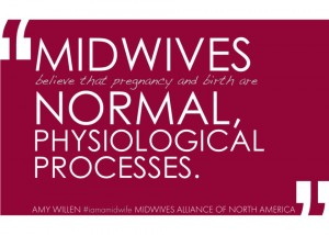midwives normal birth