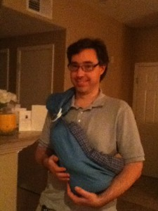 dad baby sling