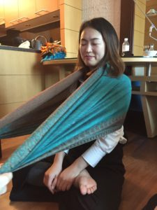 rebozo training