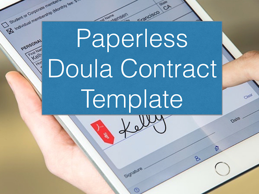Doula Paperless Contract Template – Childbirth Professionals ...